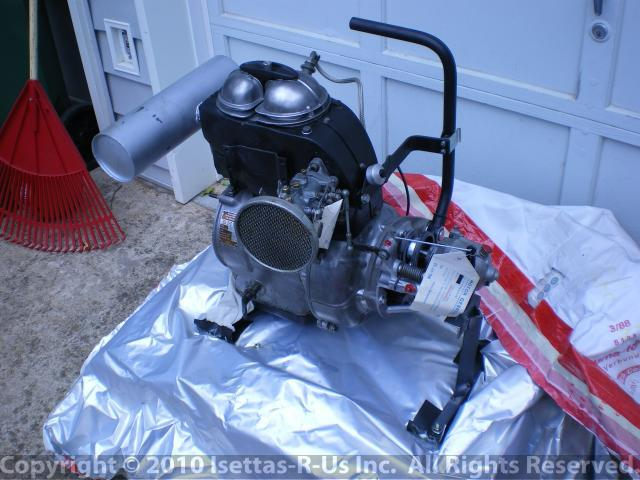 Industrial Isetta long bloc engine 008