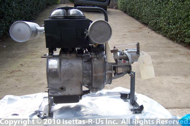 Industrial Isetta long bloc engine 013